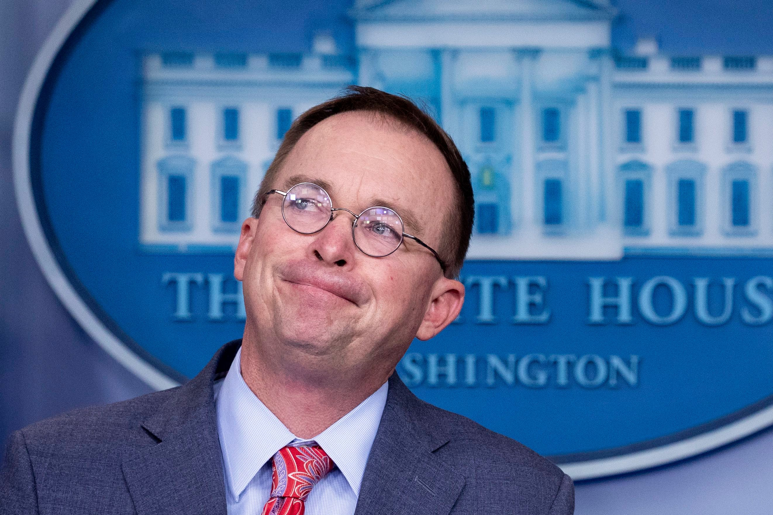 Sorry, Mick Mulvaney. I can't 'get over it.' - The Washington Post