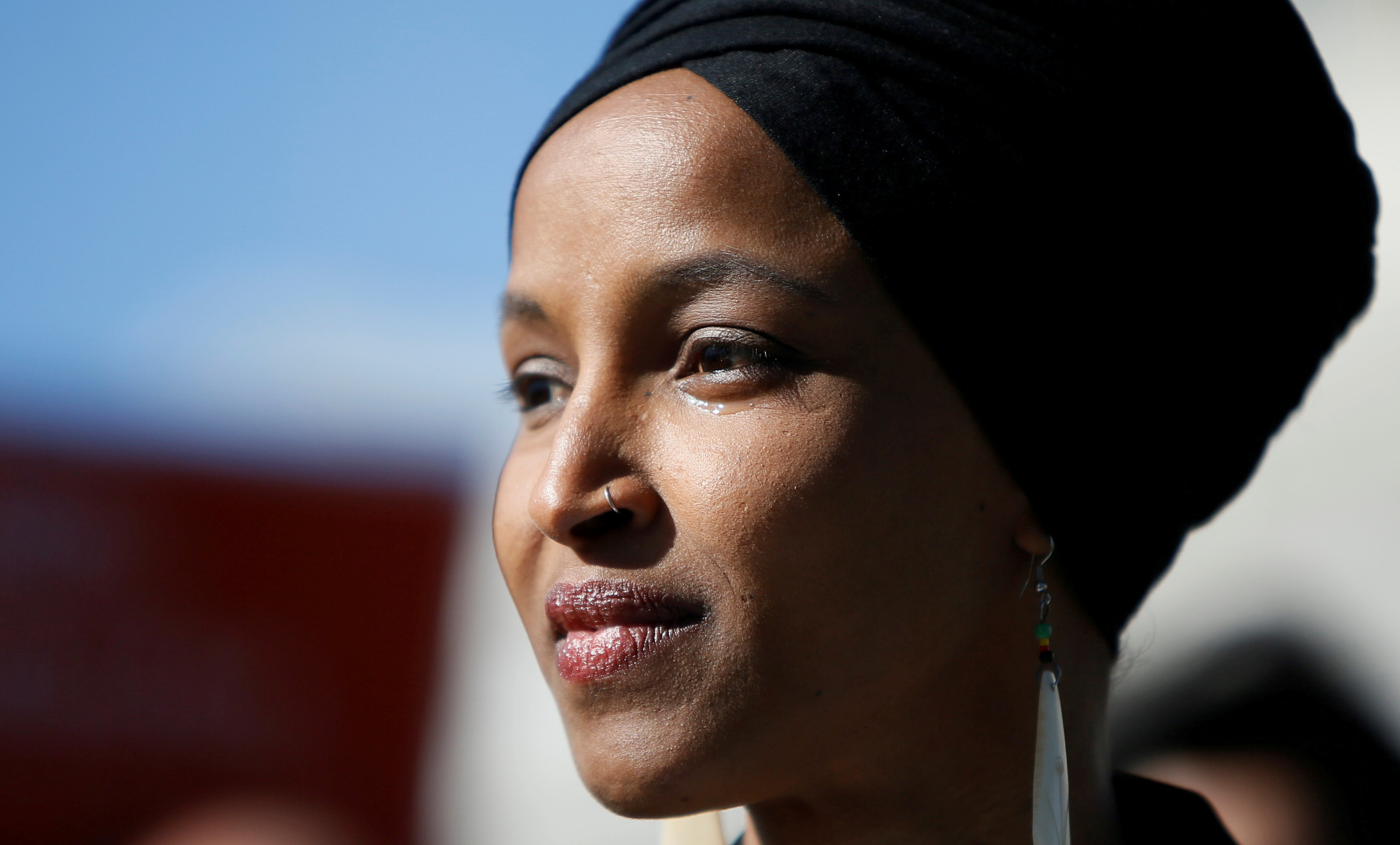 Some people did something': Rep  Omar's remarks in context