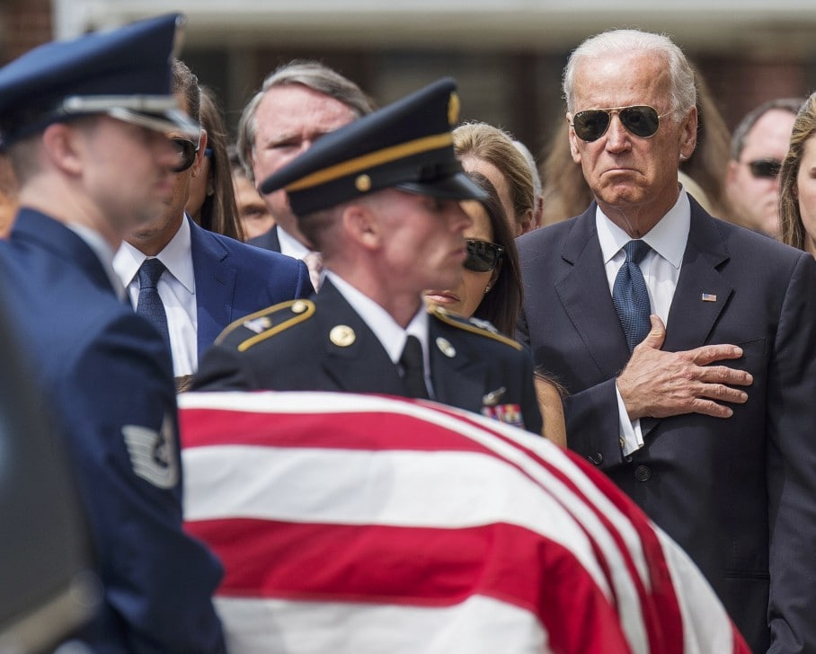 What It Was Like To Cover Beau Biden S Funeral The Washington Post