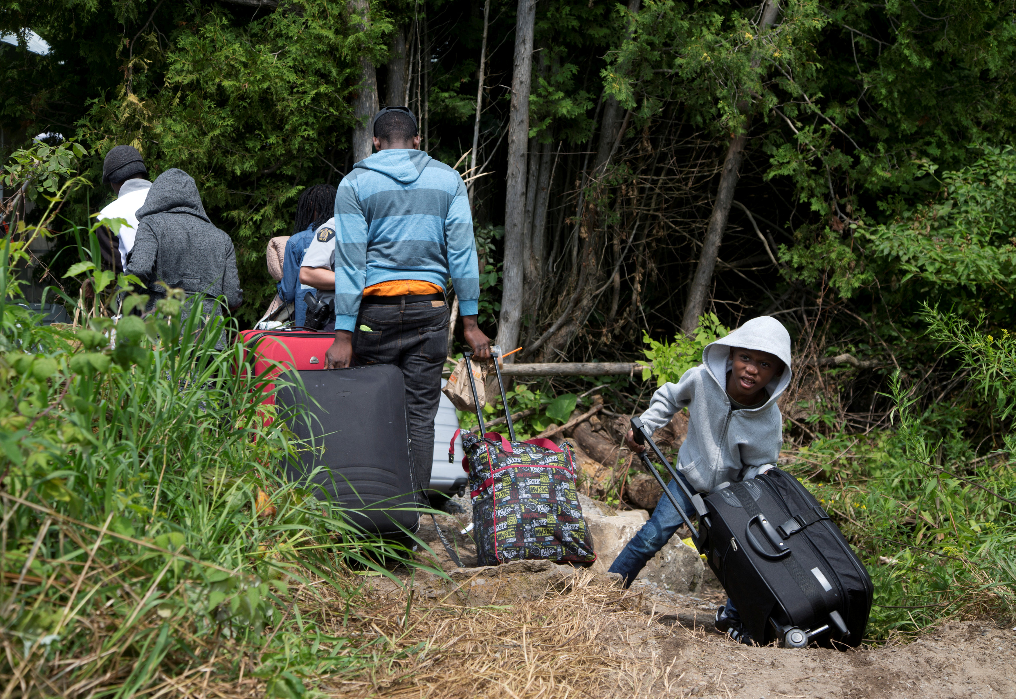 Asylum seekers have flooded into Canada  The government is putting