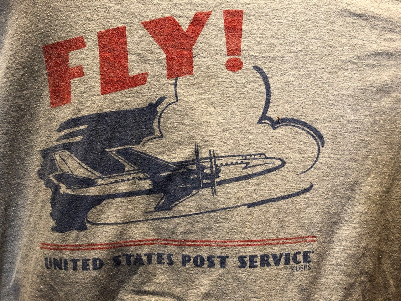 Is That A Russian Airplane On A T Shirt Commemorating Us Air Mail
