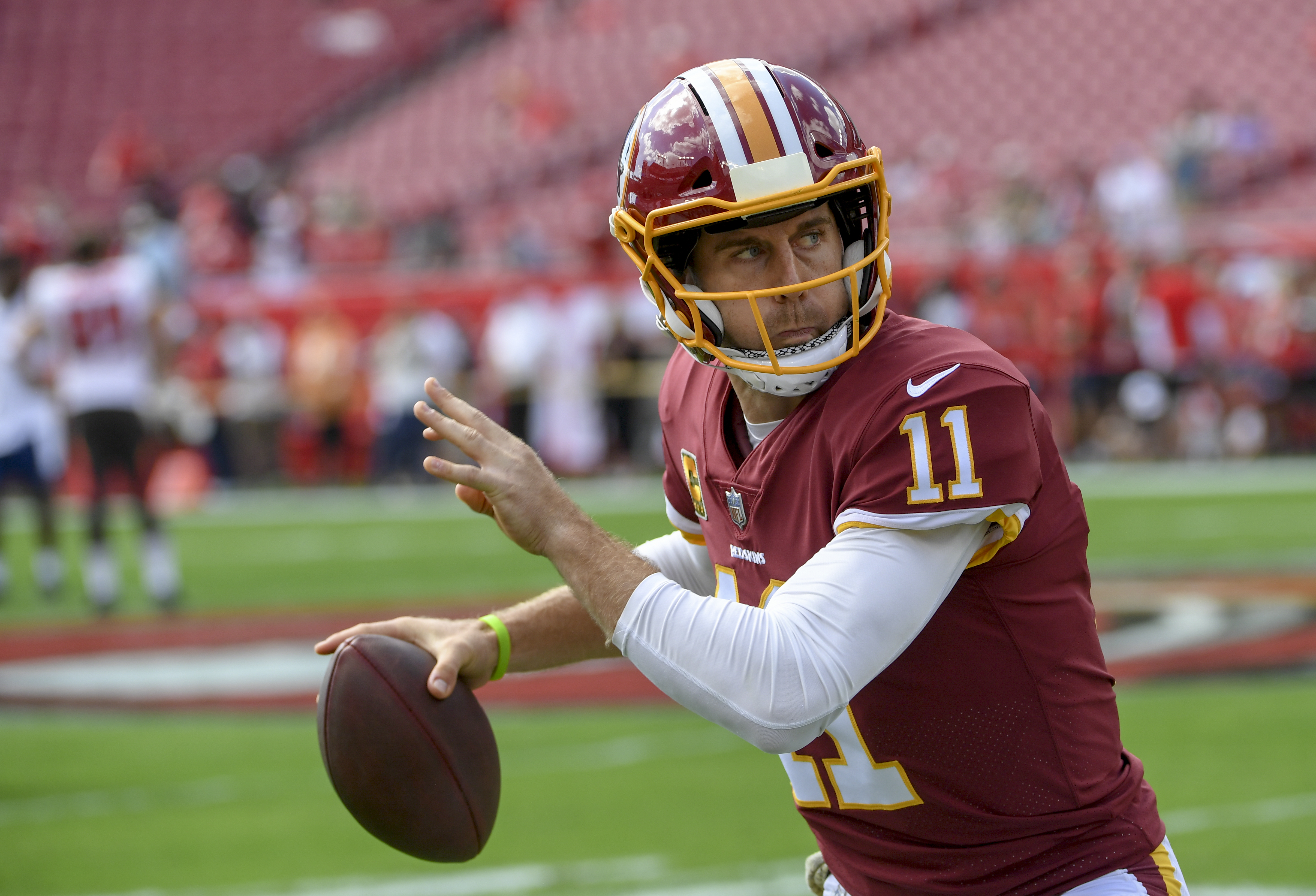 Alex Smith Cleared By His Own Docs For Full Activity Awaits Team Go Ahead Monday The Washington Post
