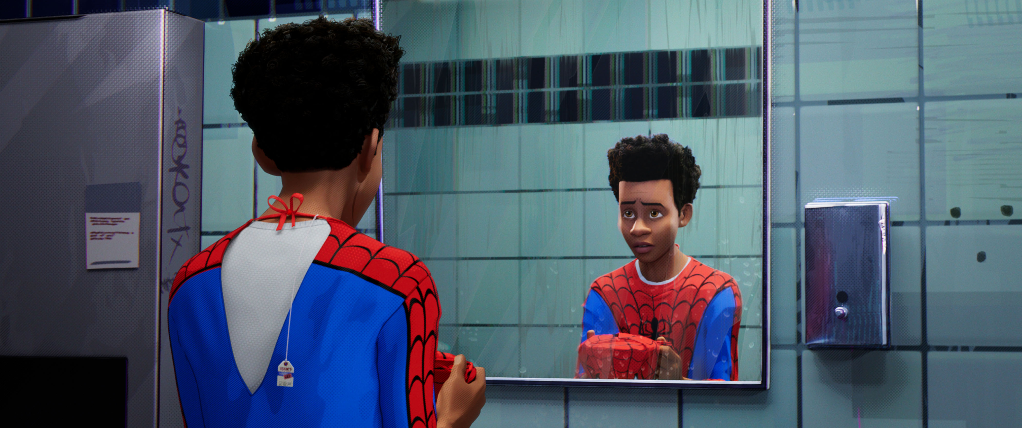 Spider-Man is straight, but 'Into the Spider Verse' is a