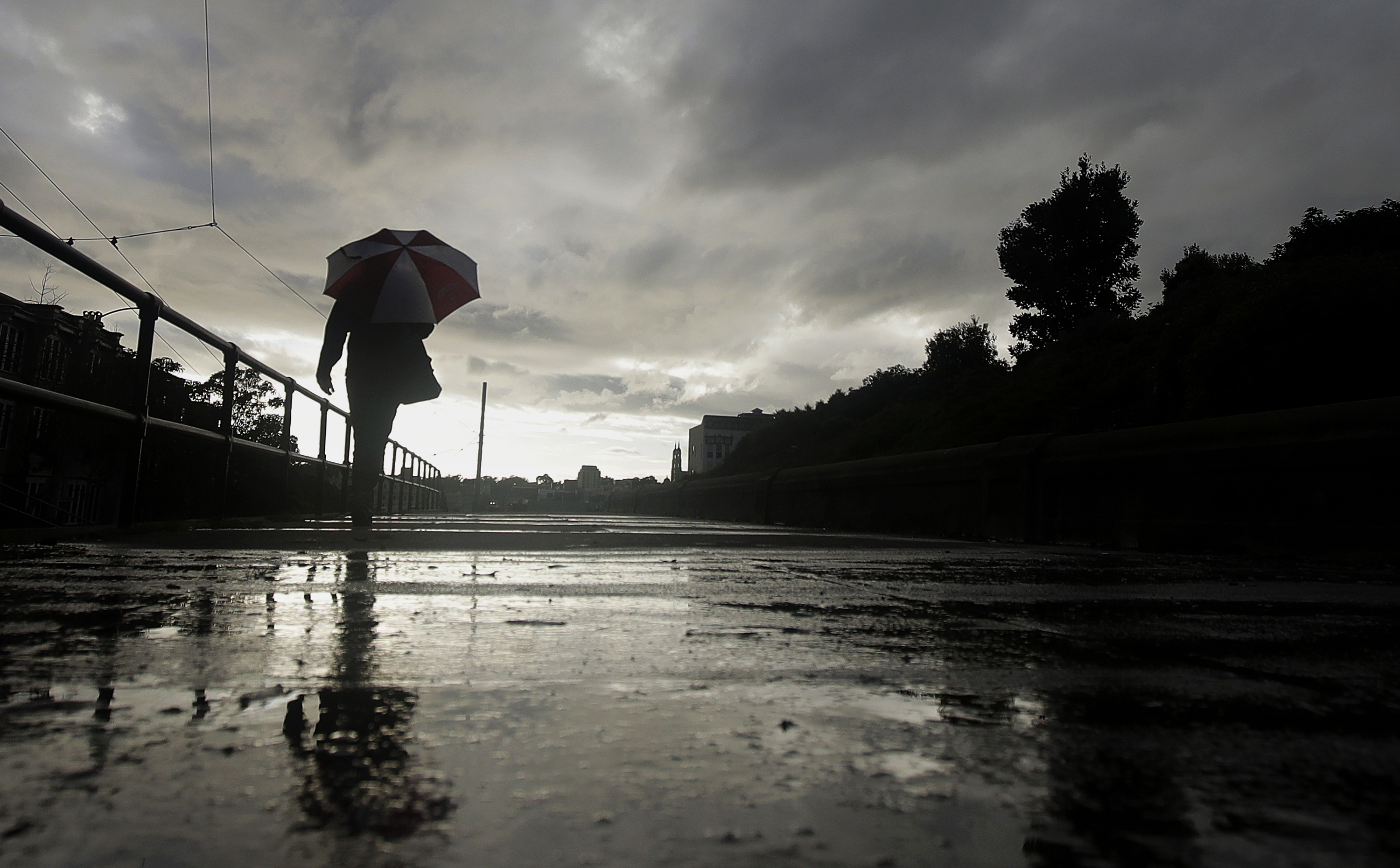 California cold: Record-breaking chilly and wet weather