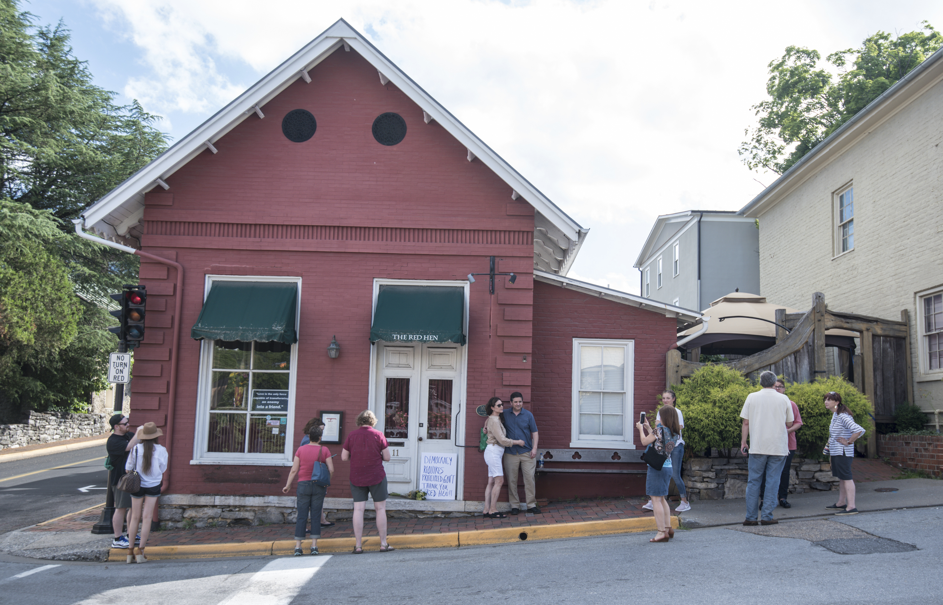 I Own The Red Hen Restaurant That Asked Sarah Sanders To