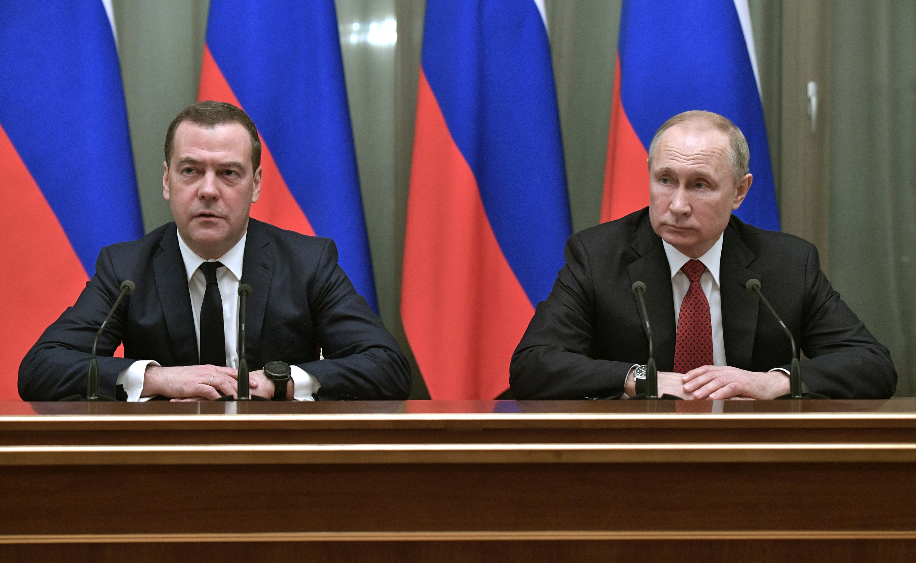 Dmitry Medvedev Was Putin S Political Wingman For Years Now Putin Wants Some Distance The Washington Post