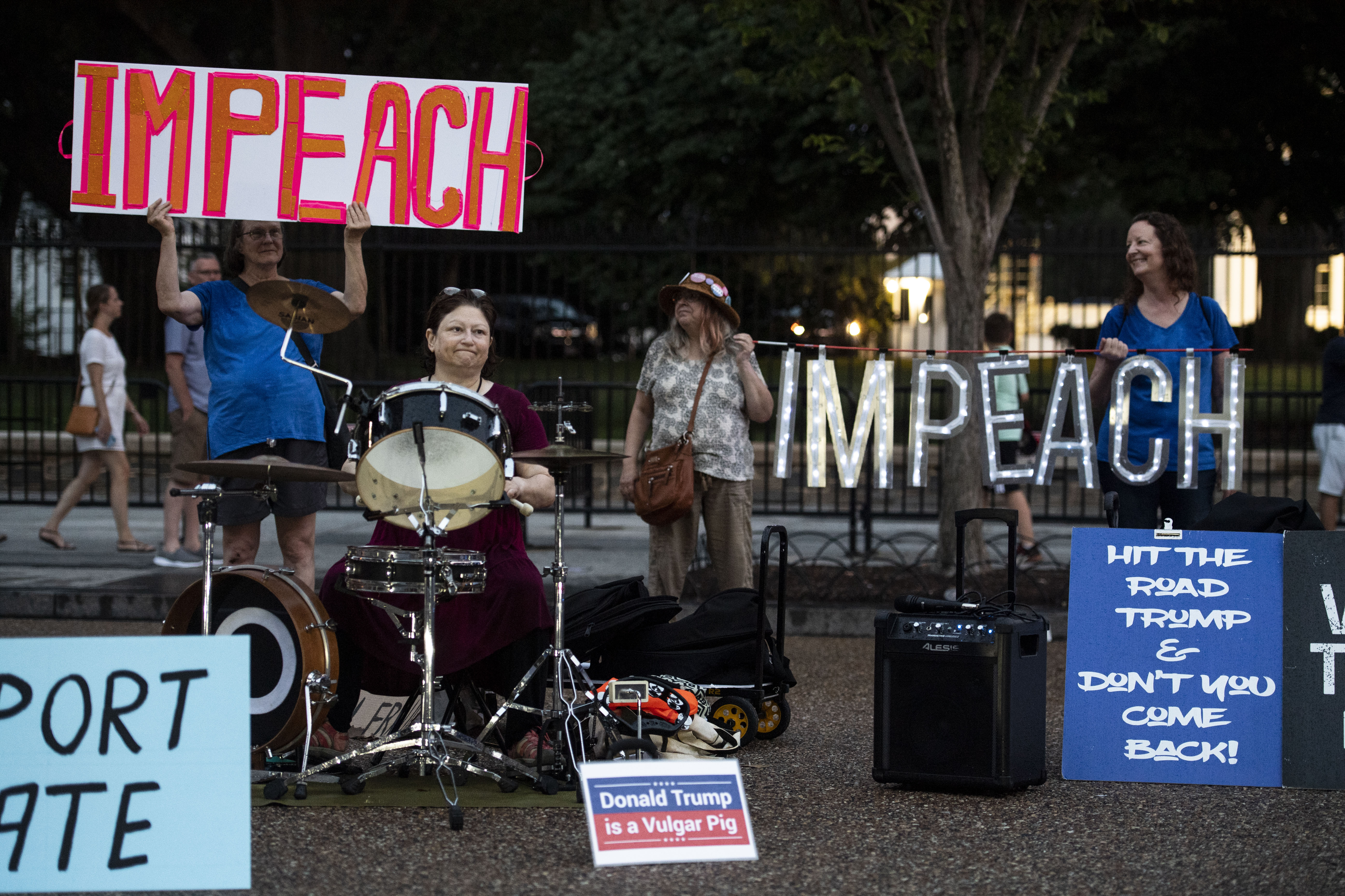 Kremlin Annex: Five women have been protesting outside the White ...