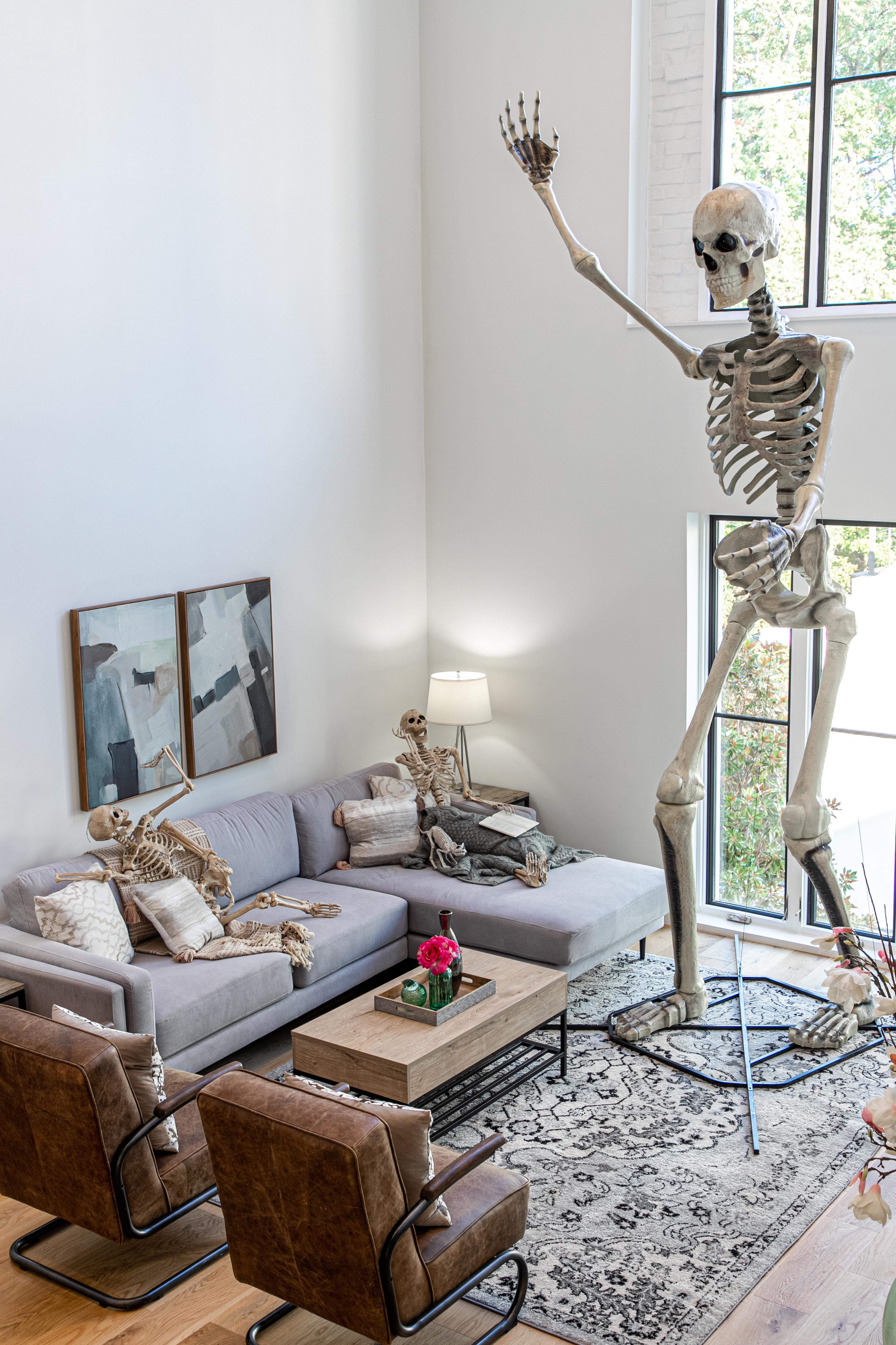 Can The Giant Home Depot Skeleton Save Halloween The Washington Post