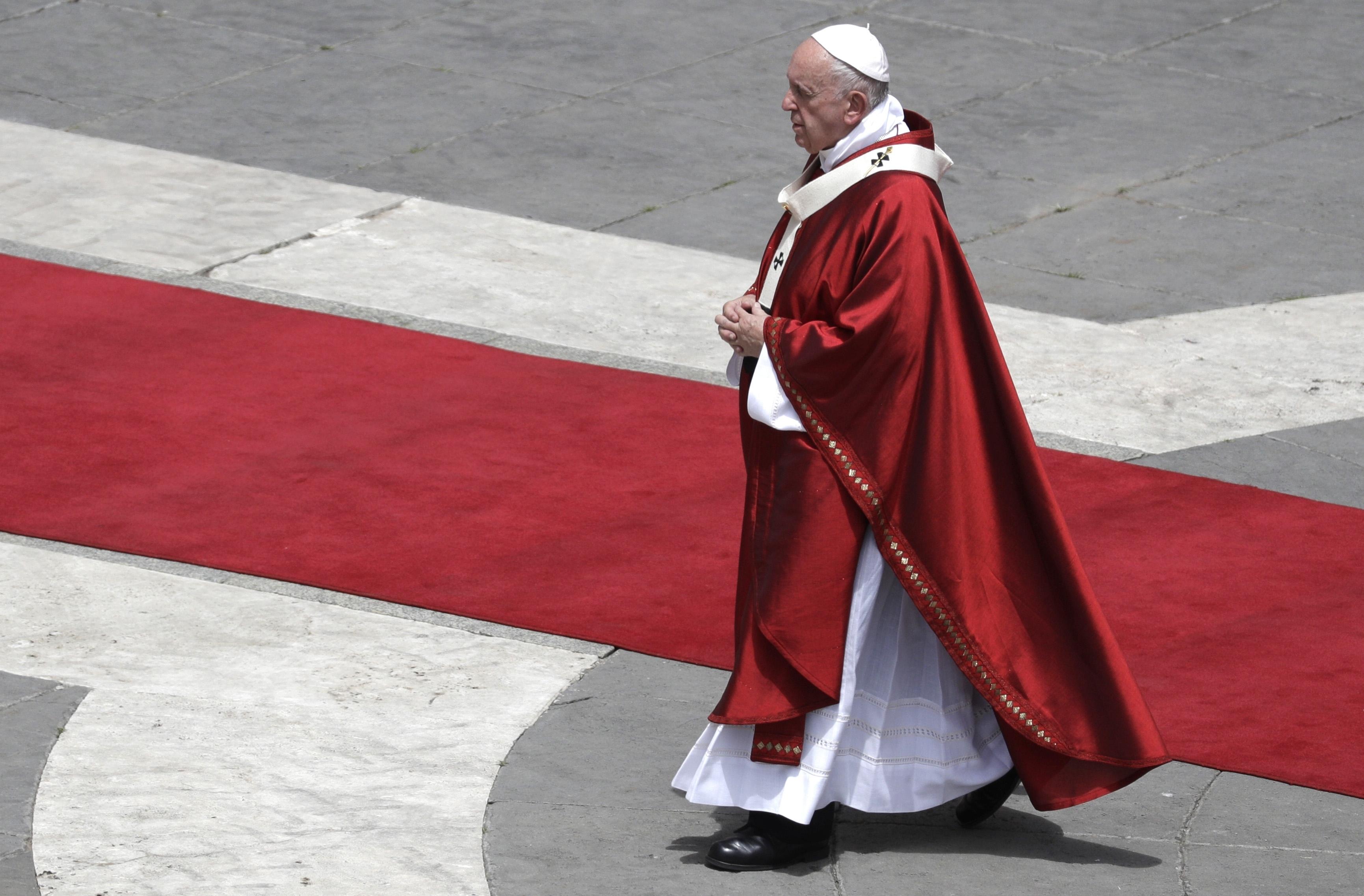 Vatican says people can't choose their genders