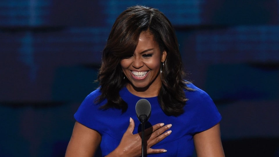 'When they go low, we kick them': How Michelle Obama's maxim morphed to fit angry and divided times