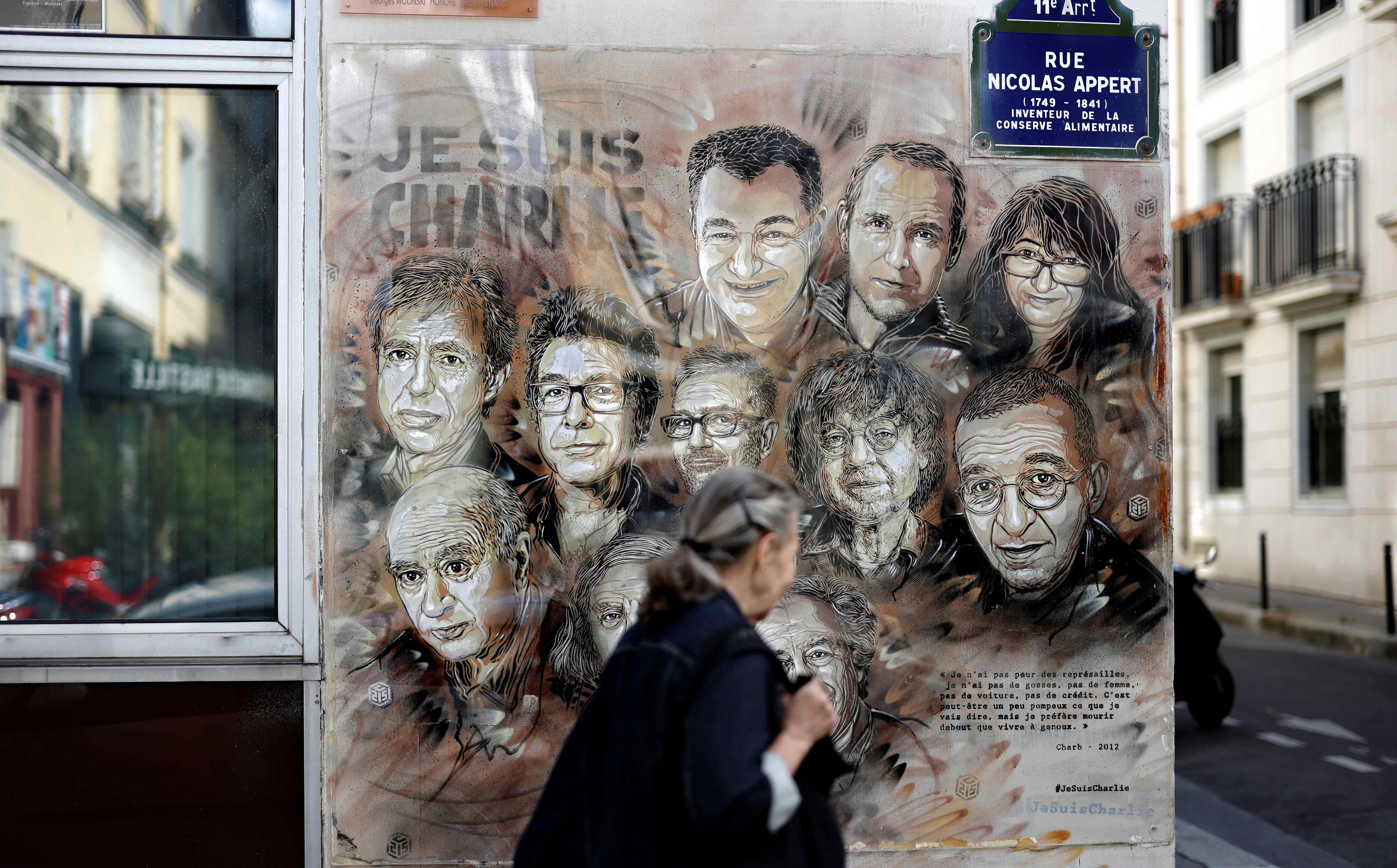 Charlie Hebdo Republishes Muhammad Cartoon Ahead Of Shooting Trial The Washington Post
