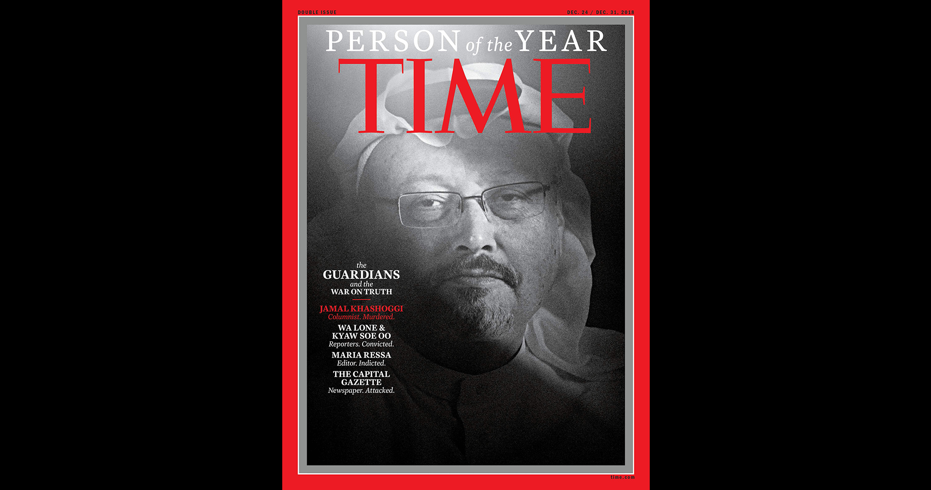 Time Person Of The Year Is The Guardians In 2018 Including Slain Journalist Jamal Khashoggi The Washington Post