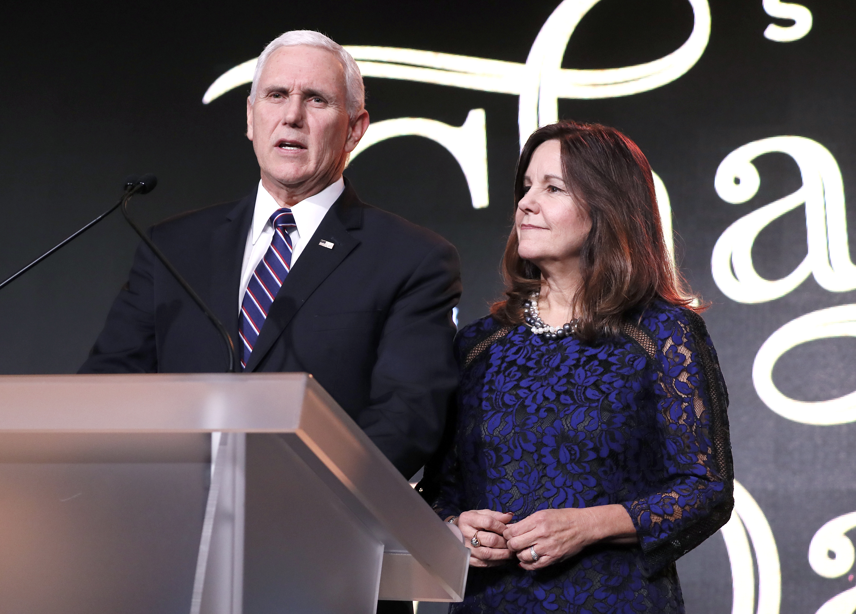 washingtonpost.com - Lindsey Bever - Pence says criticism of wife's job at anti-LGBT Christian school is 'deeply offensive to us'