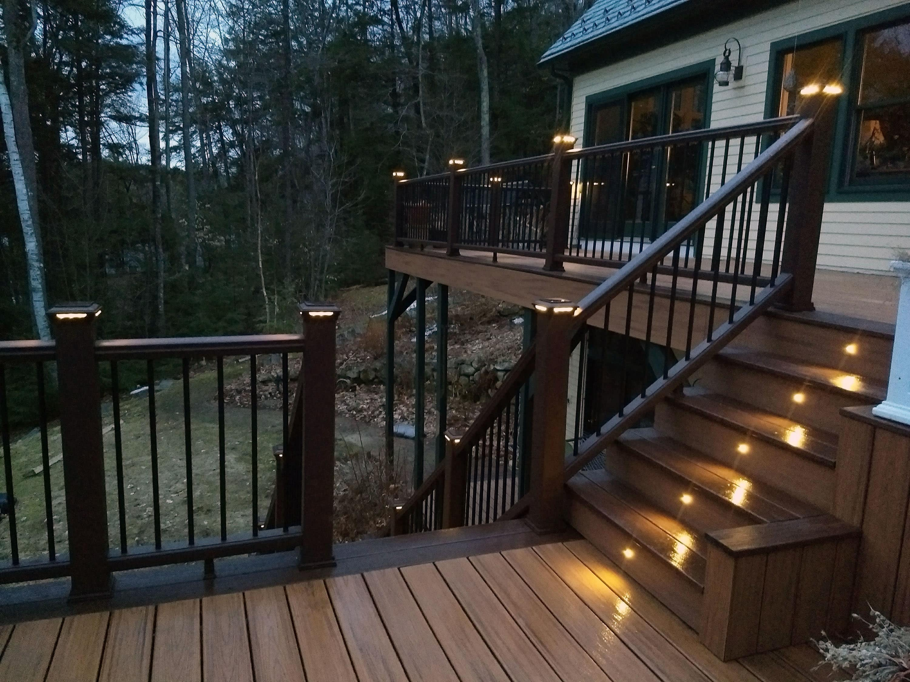 Image of: Low Voltage Deck Lighting Can Be An Easy Install For Homeowners The Washington Post