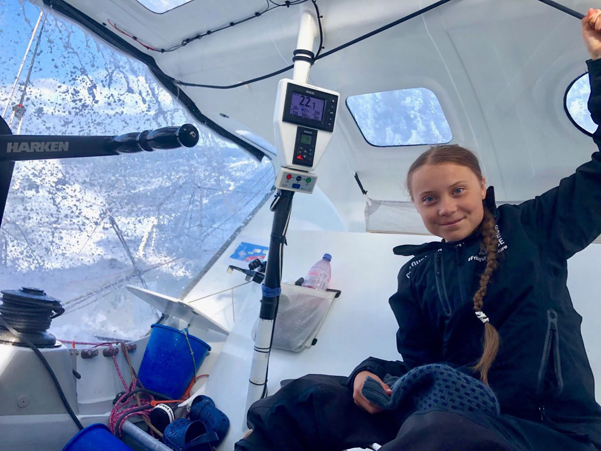 Greta Thunberg arrives in U.S. for United Nations climate summit in zero-emissions boat - The Washington Post