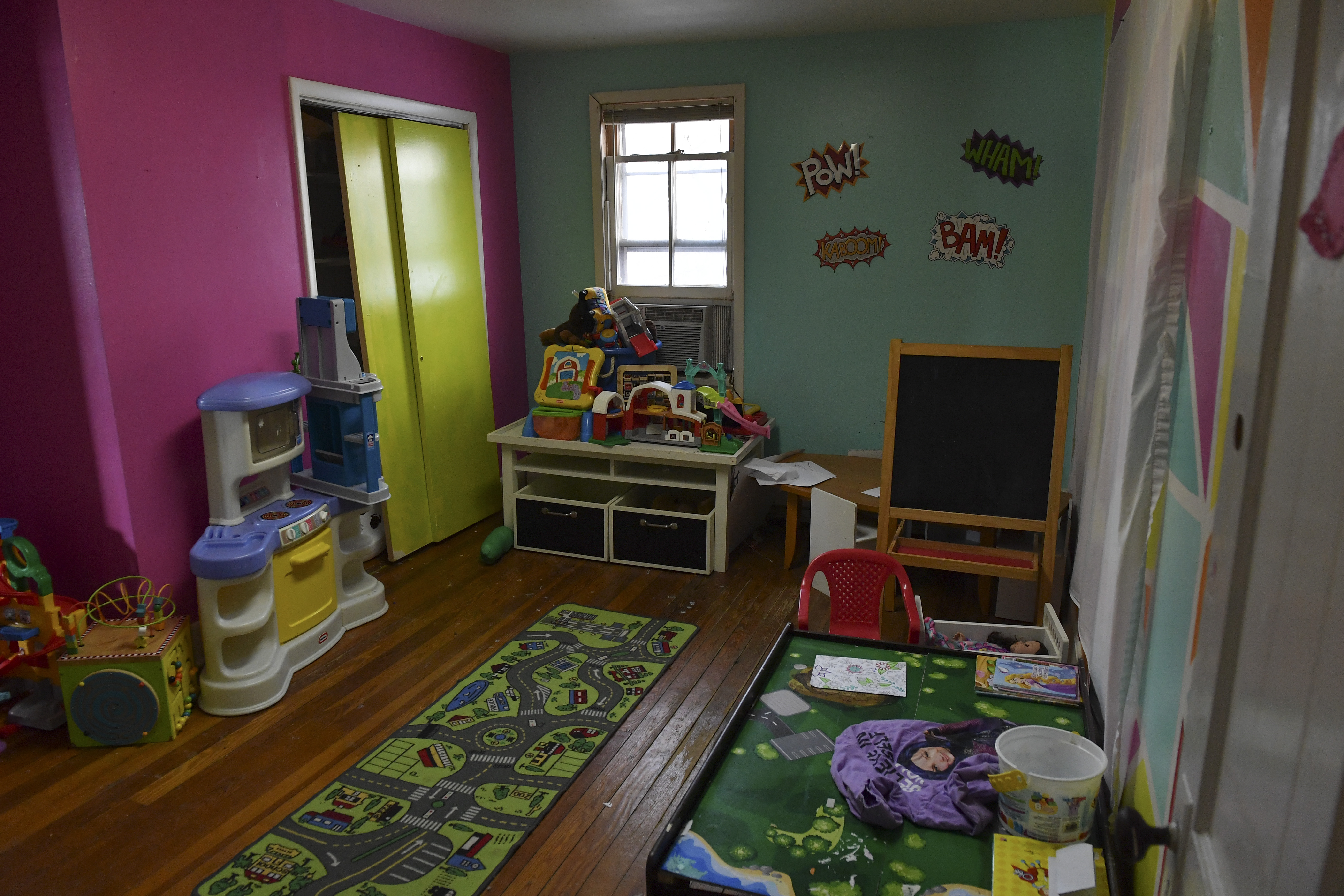 The playroom at the Eastern Panhandle Empowerment Center women's shelter.