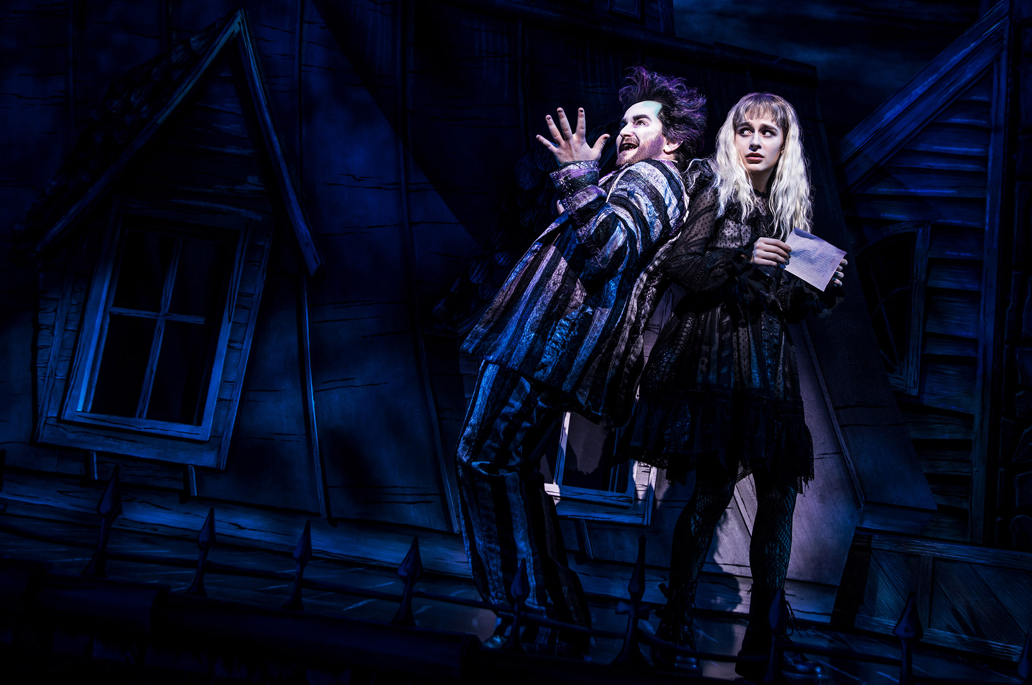 The New Beetlejuice Musical Is Overcaffeinated Overstuffed And Virtually Charmless The Washington Post