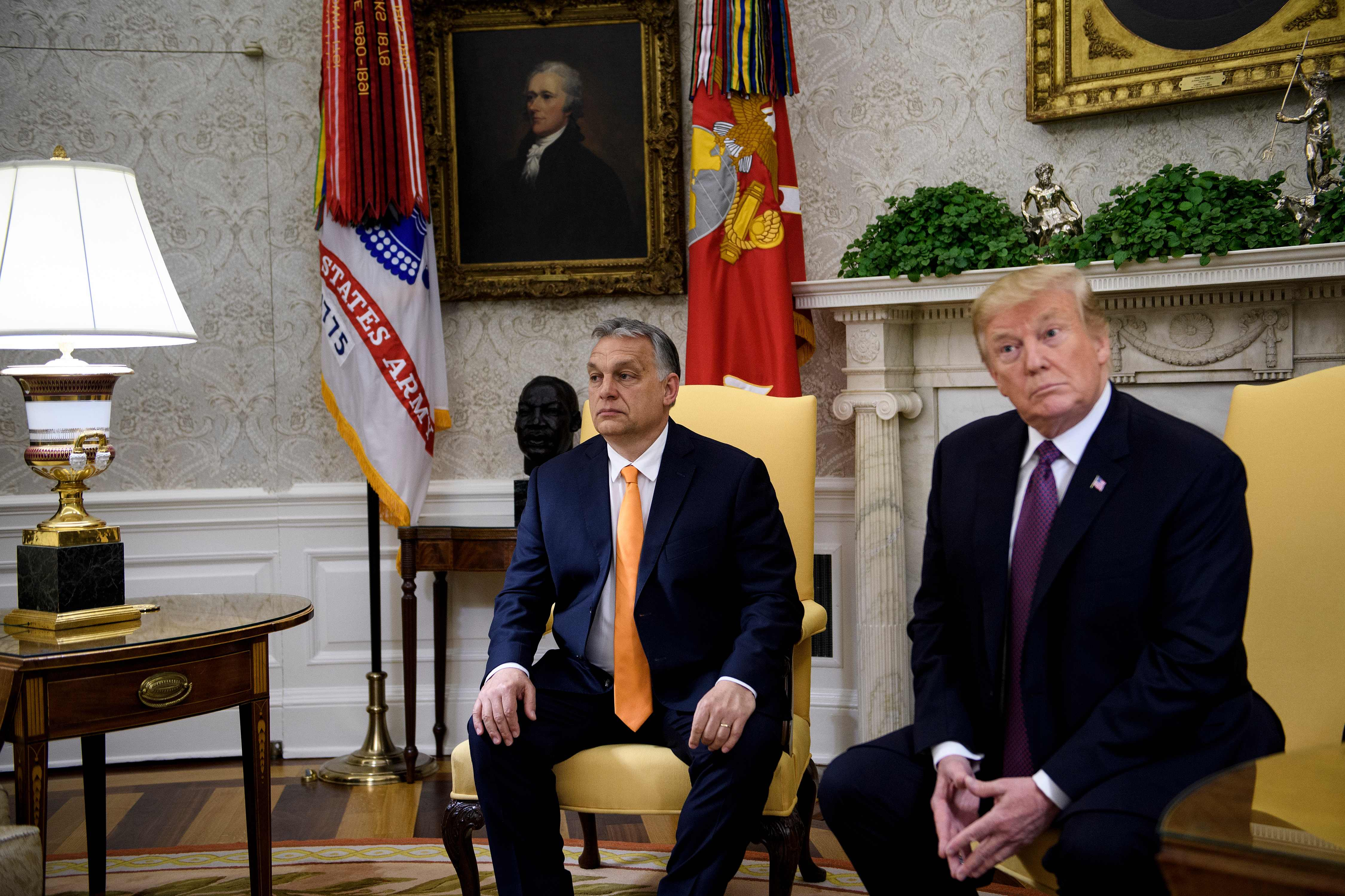 Magnificent Putin And Hungarys Orban Helped Sour Trump On Ukraine The Short Links Chair Design For Home Short Linksinfo