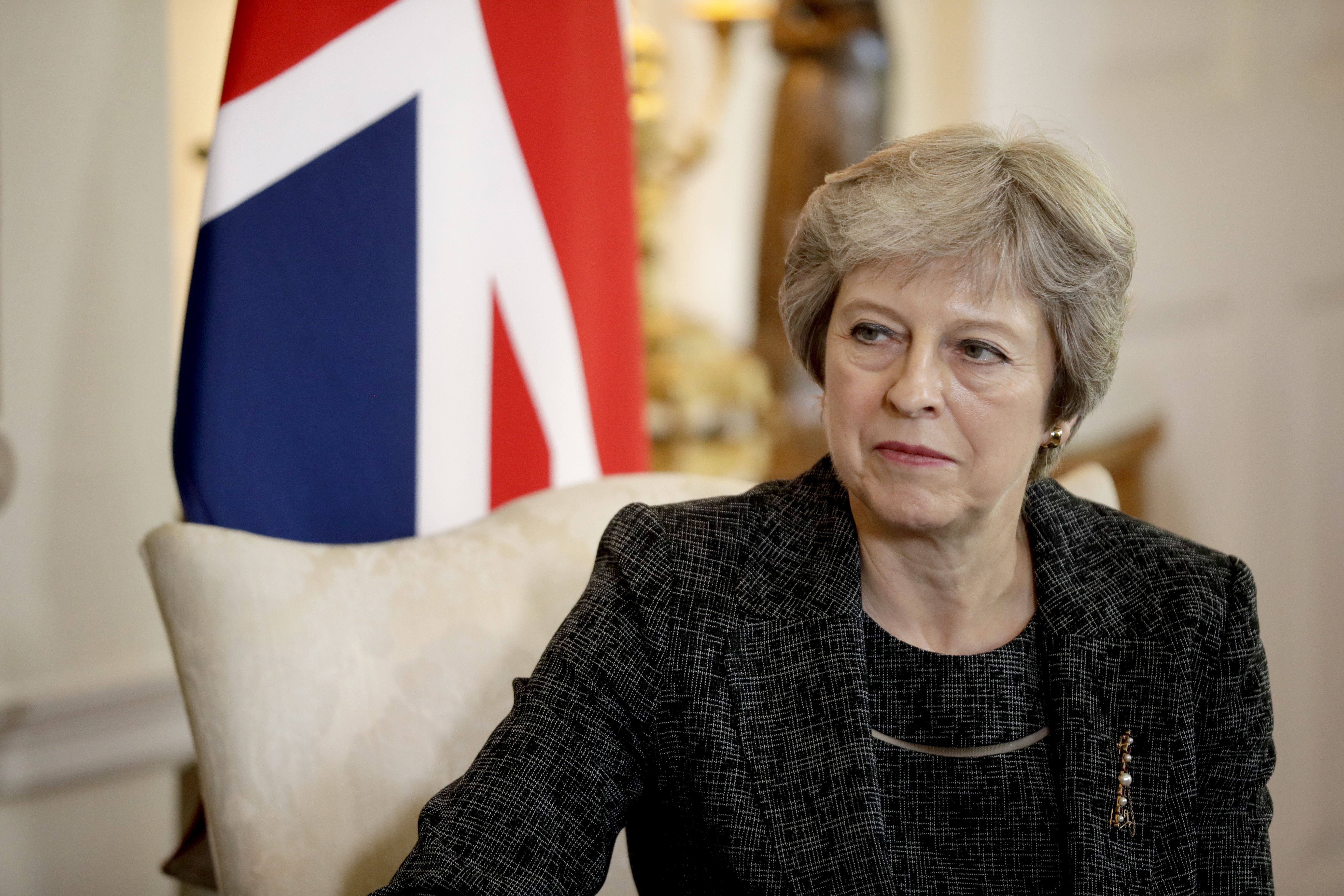 British Prime Minister Theresa May told the BBC that the alternative to her Brexit proposal is no deal.