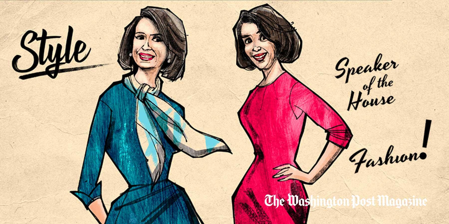 washingtonpost.com - Christina Binkley - She may not acknowledge it, but Nancy Pelosi is a fashion icon