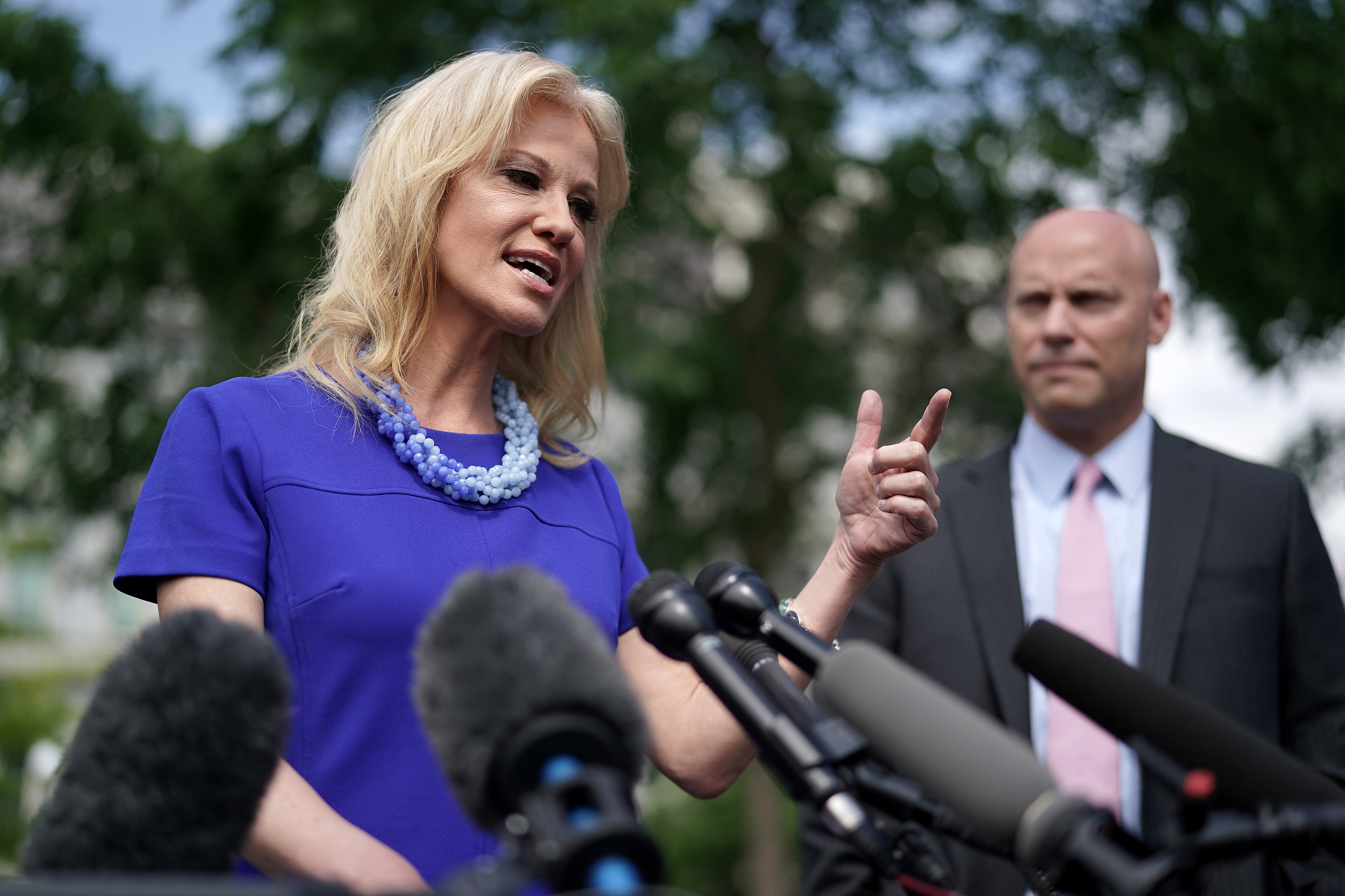 Kellyanne Conway accused Pelosi of sexism. It's not the first time she's used that card.