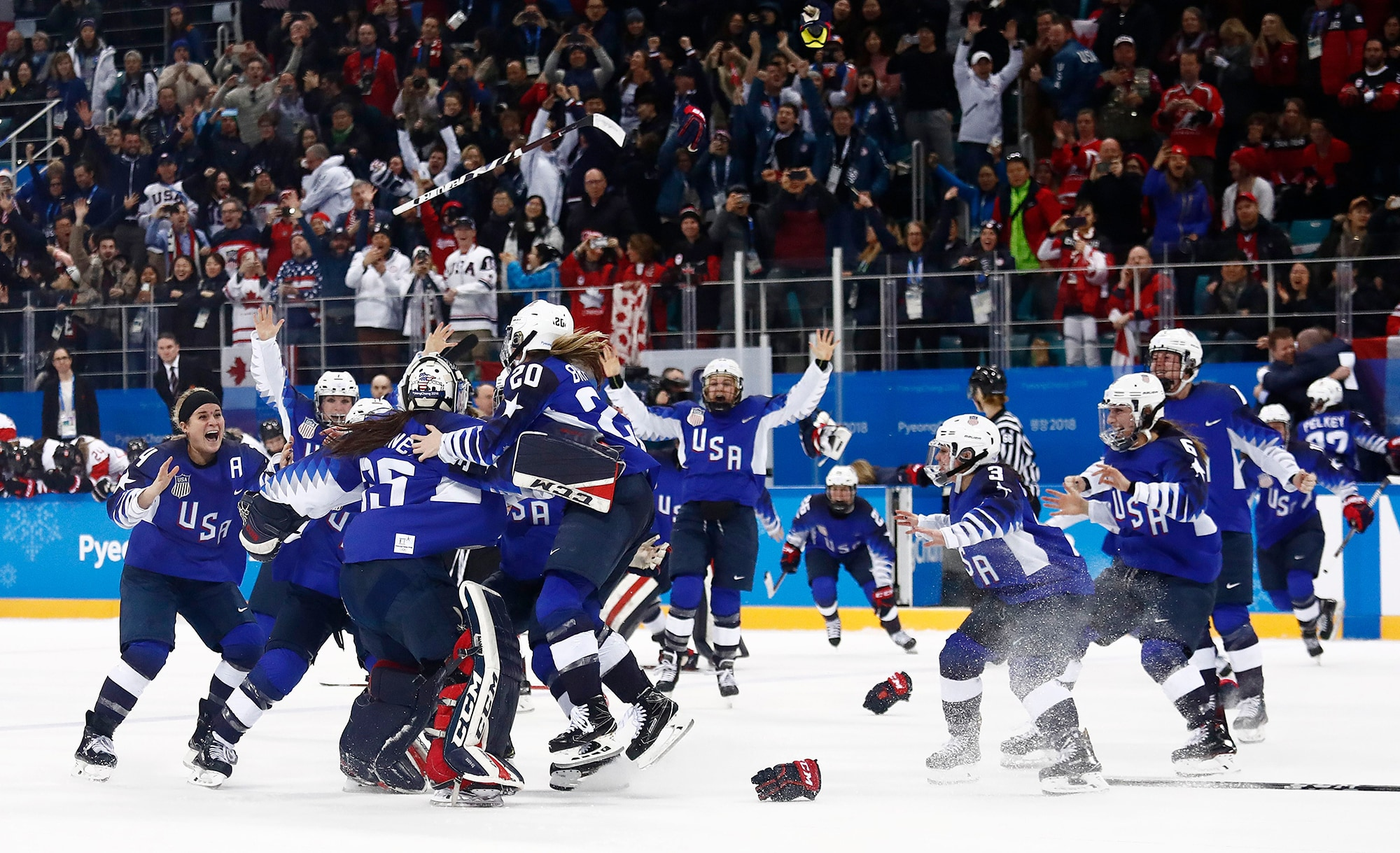 Olympics Day 14 After 20 Years U S Women S Hockey Wins Gold