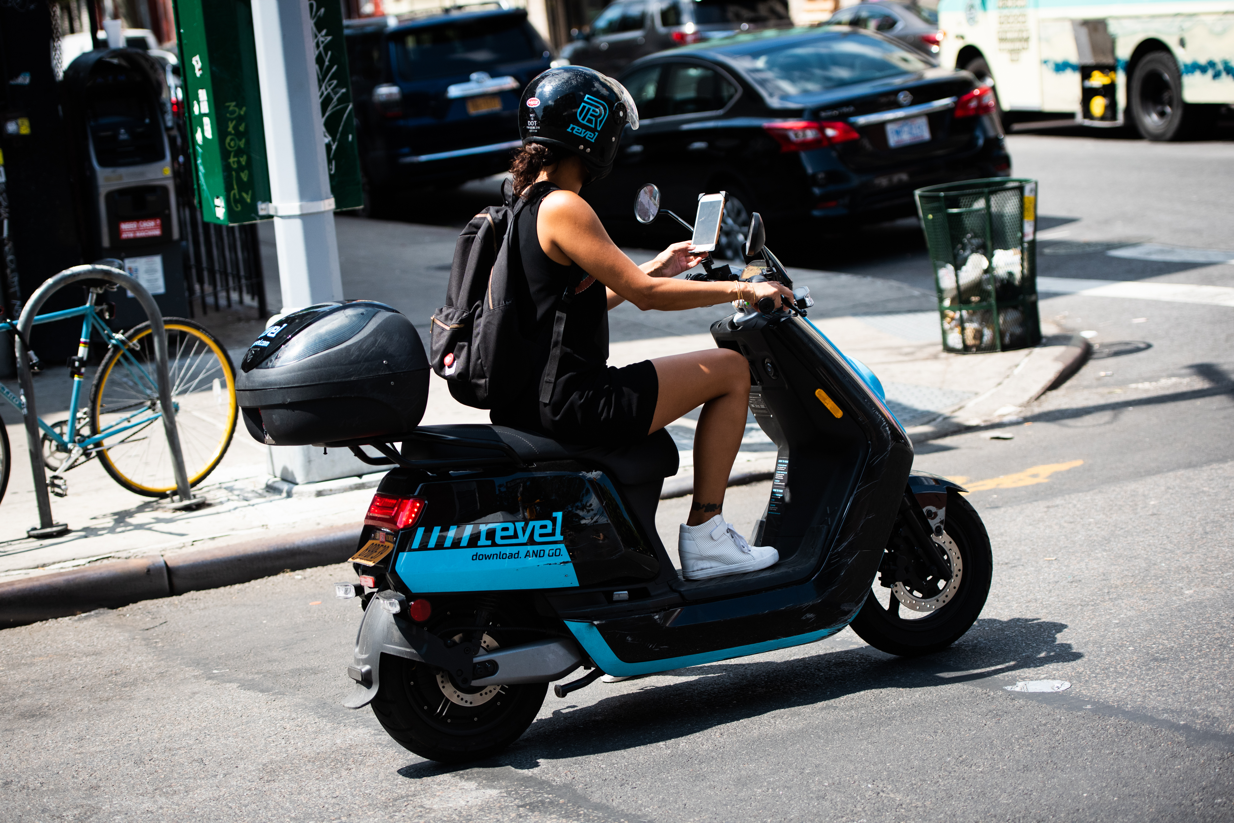 First bikes, then scooters, now mopeds  Next up: Trikes and e-cargo