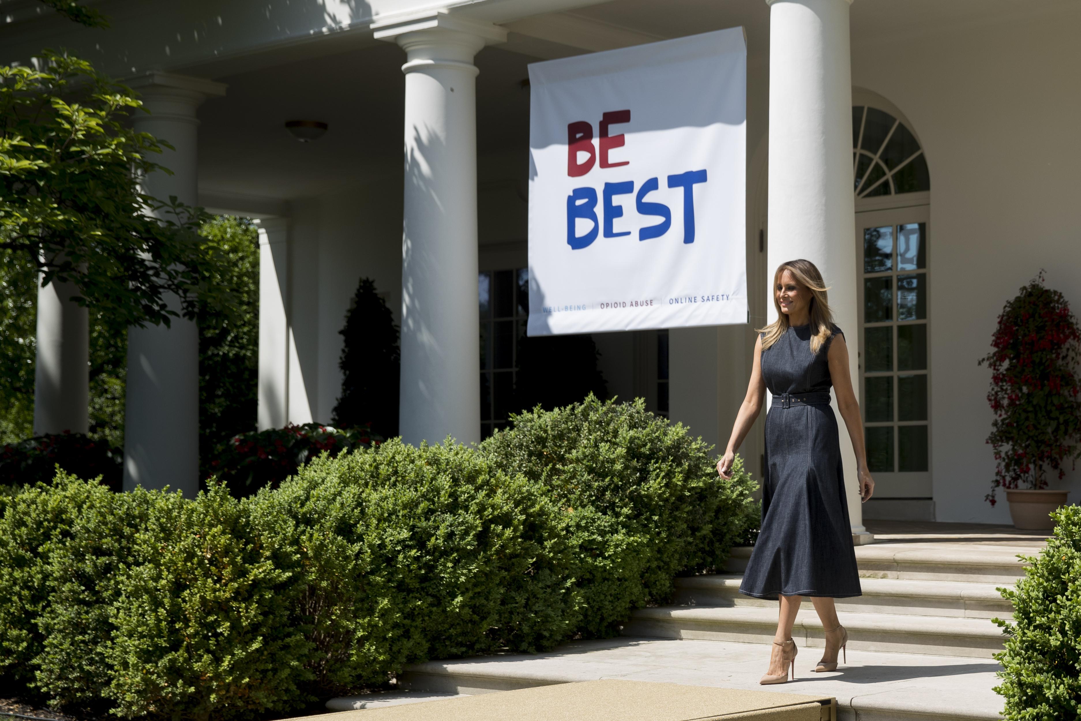 Melania Trump S Rose Garden Redo Draws Criticism But It S Long Overdue The Washington Post