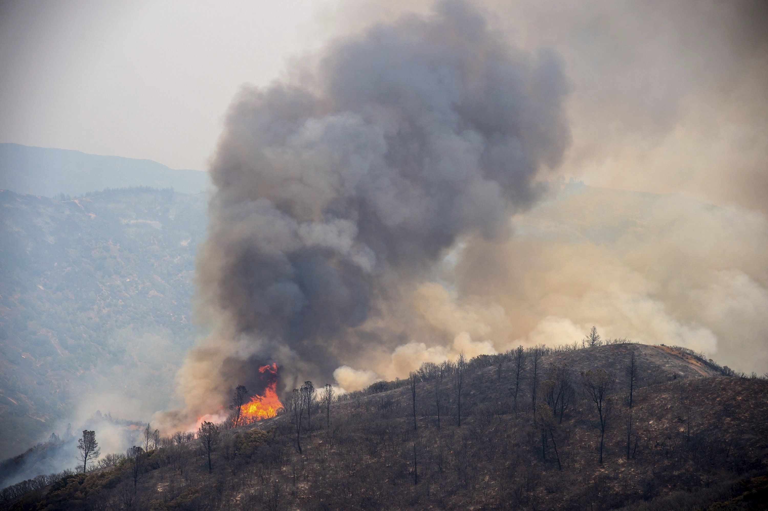 Mendocino fire has become California's largest ever - The