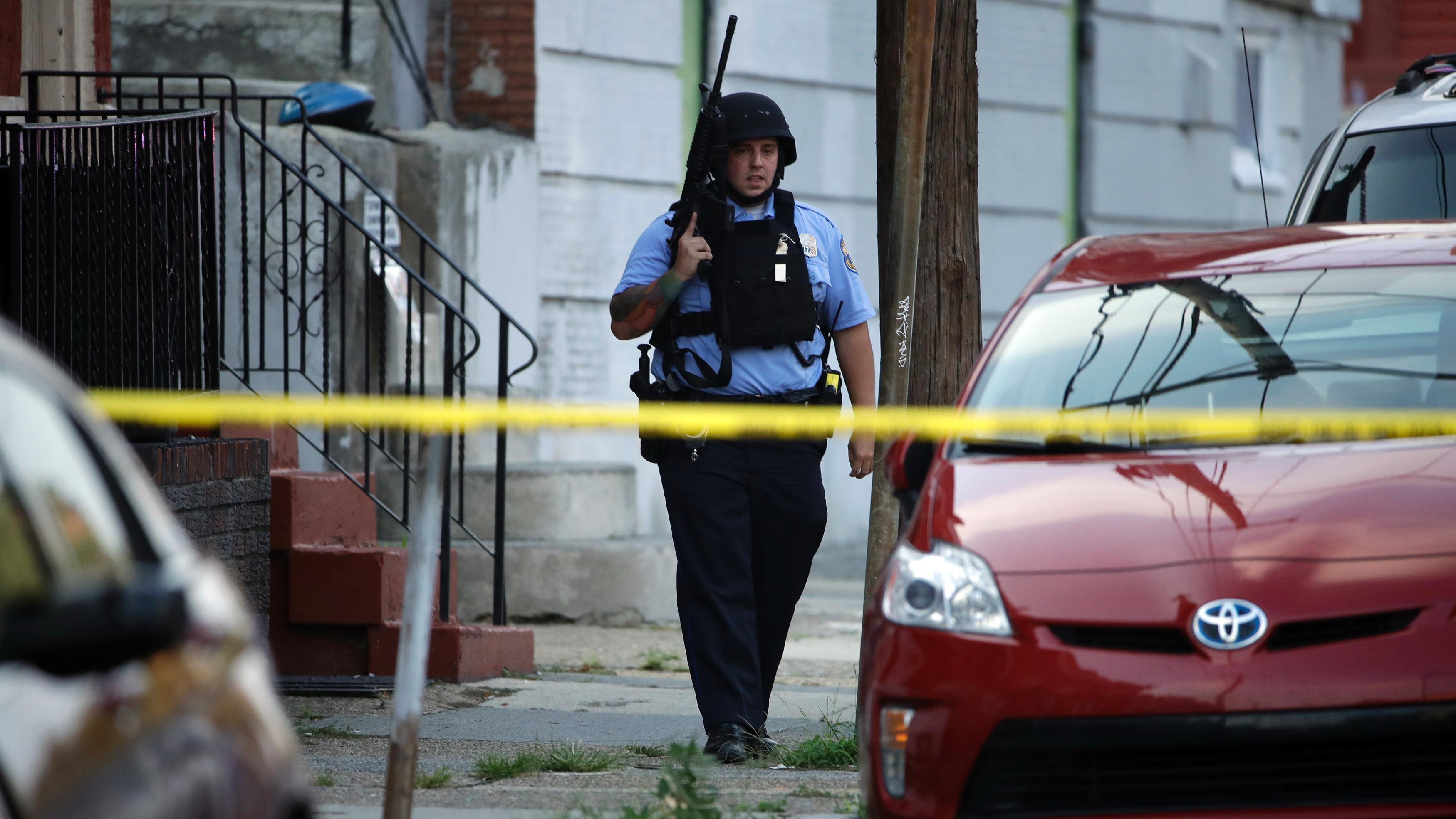 Philadelphia shooting: Suspect accused of shooting 6