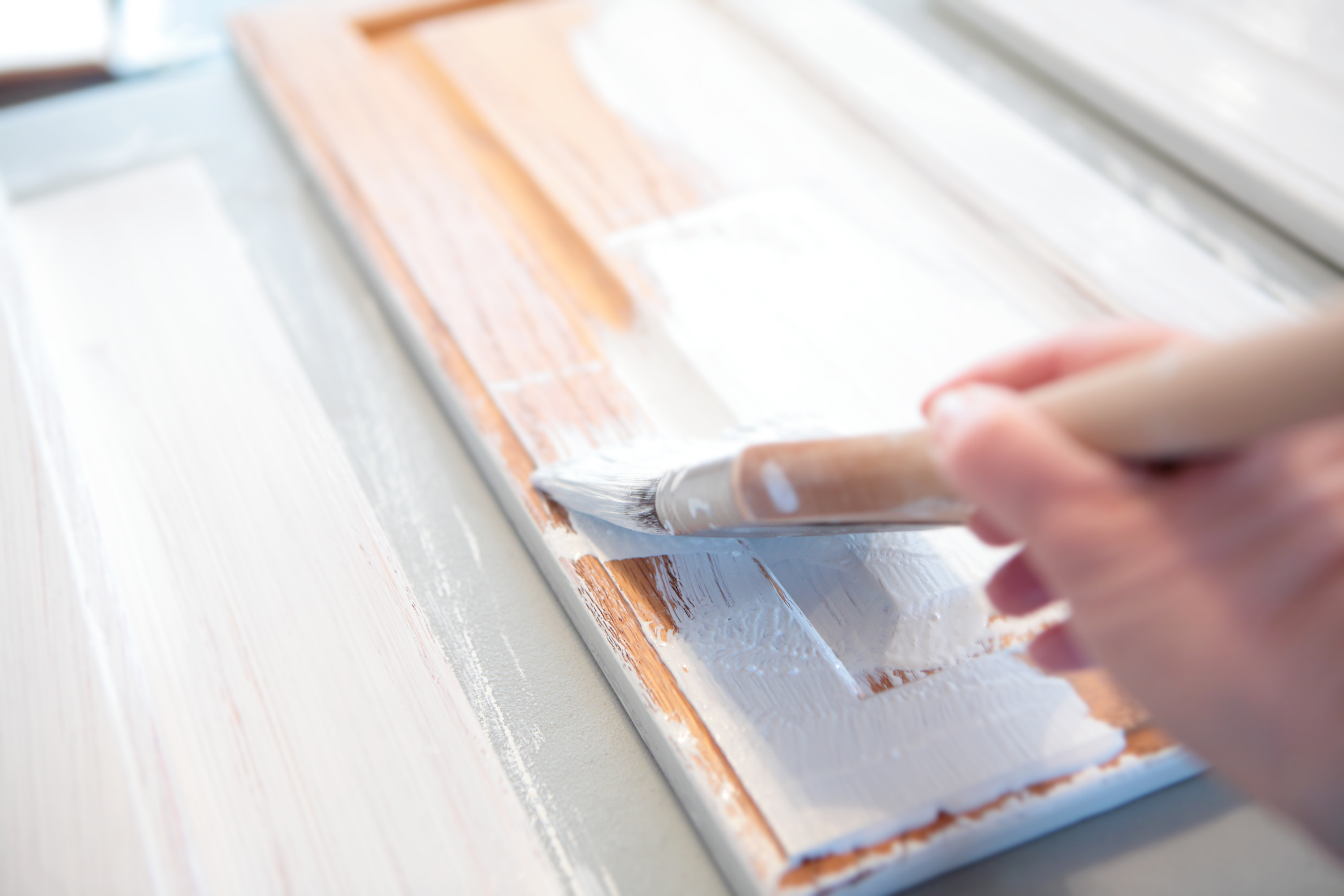 For An Affordable Kitchen Update Try Painting Your Cabinets Here S How The Washington Post
