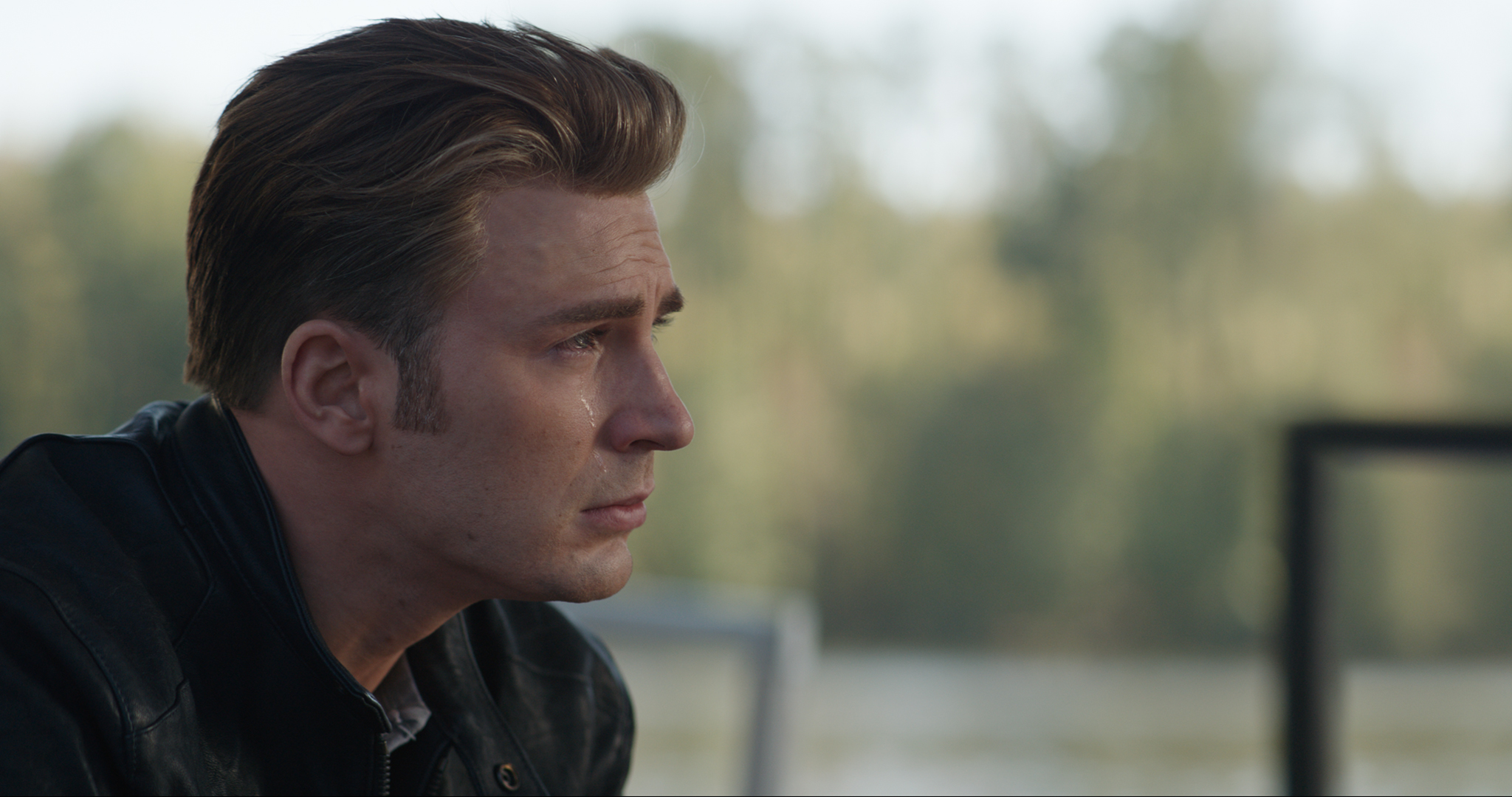 Captain America sheds a single tear over [redacted].