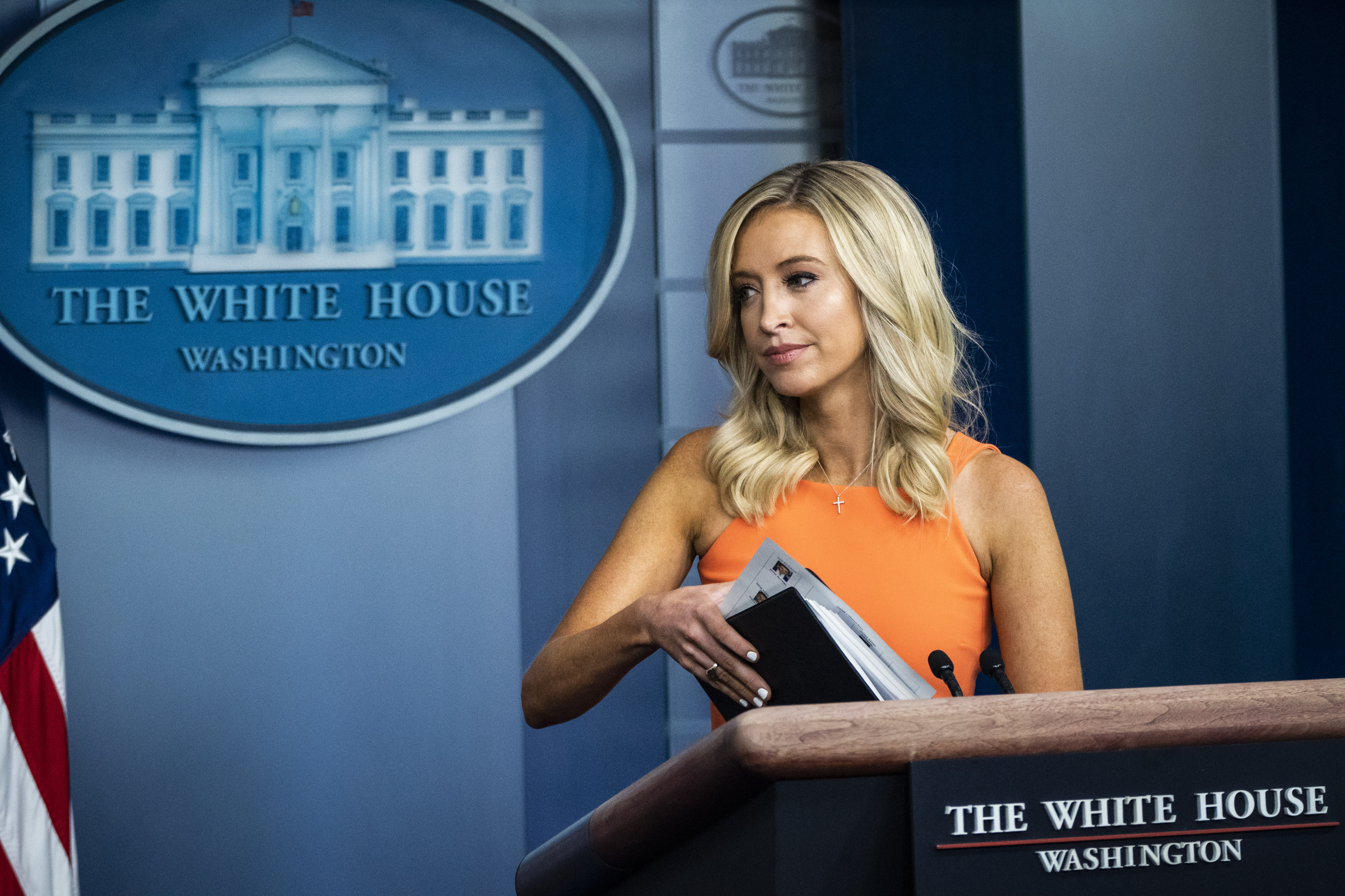 Mediagazer Kayleigh Mcenany S Abrupt Walk Offs From Press Briefings Is Almost Pure Theater Giving Her The Last Word In Disservice To Informing The Press And Public Paul Farhi Washington Post