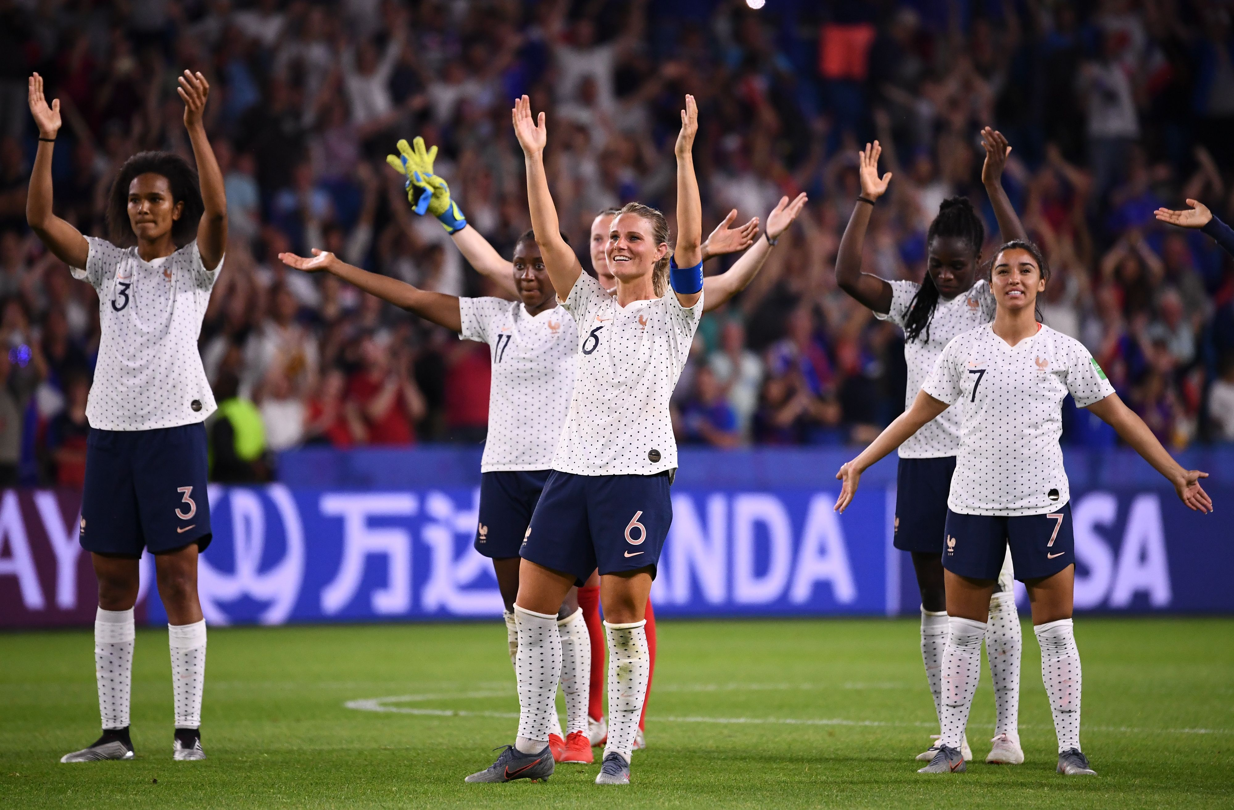 France Women S Soccer Team Will Look To Upset Uswnt At World Cup The Washington Post