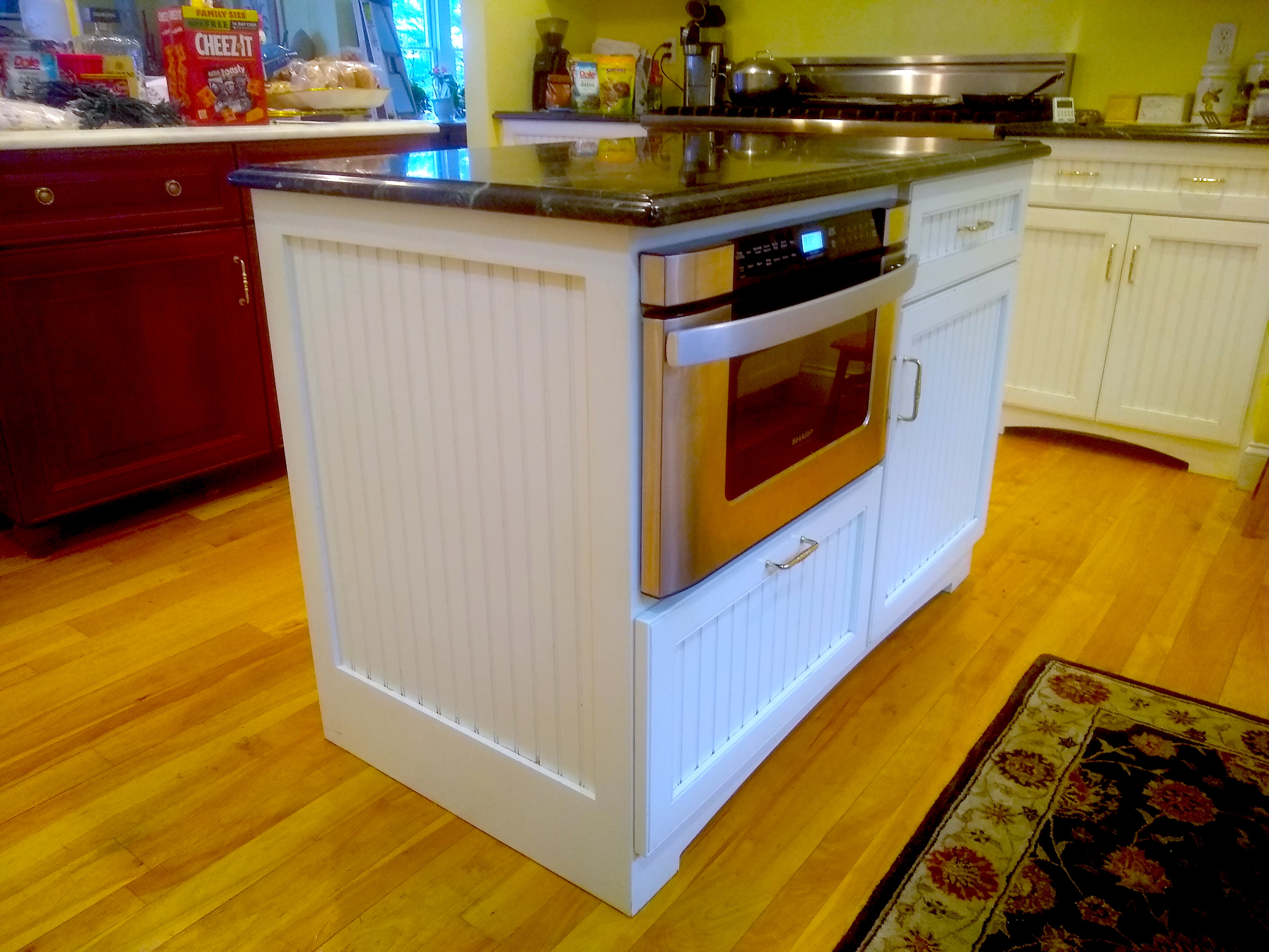 Maximizing your island in a small kitchen   The Washington Post