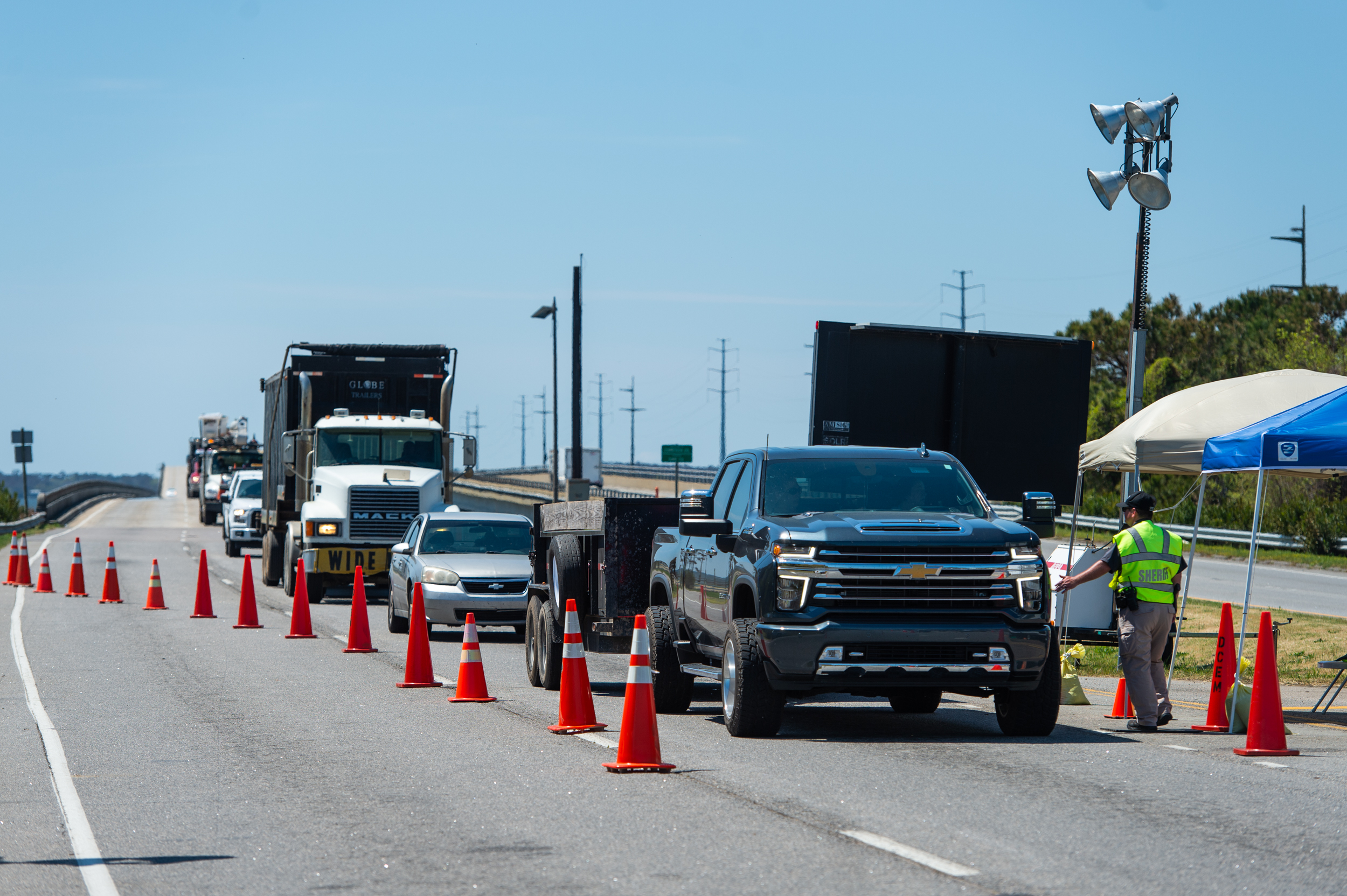 Covid 19 Checkpoints Targeting Out Of State Residents Draw Complaints And Legal Scrutiny The Washington Post